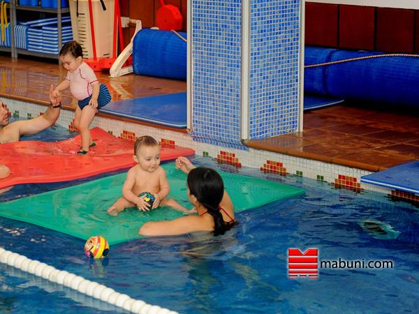natación bebés vallecas